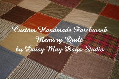 custom memory quilt daisy may days
