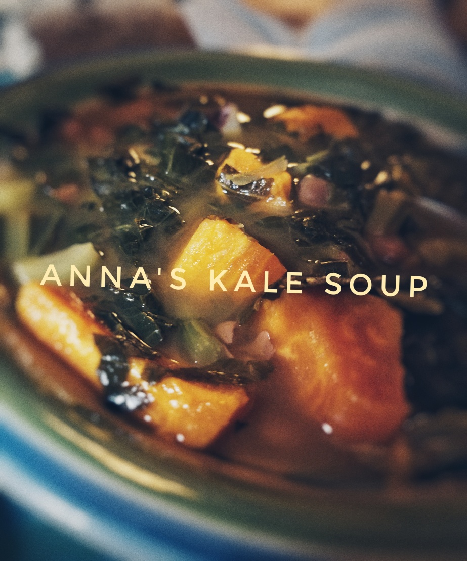 Anna's Kale Soup Recipe