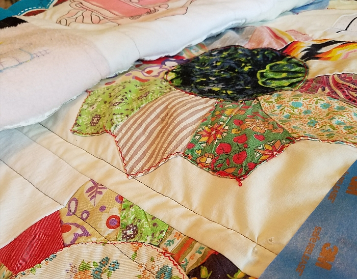 Quick and Easy Minor Quilt Repair