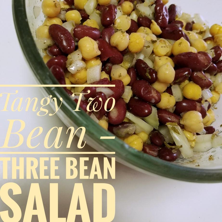 Tangy Two Bean, Three Bean Summer Salad – A Make-doRecipe!