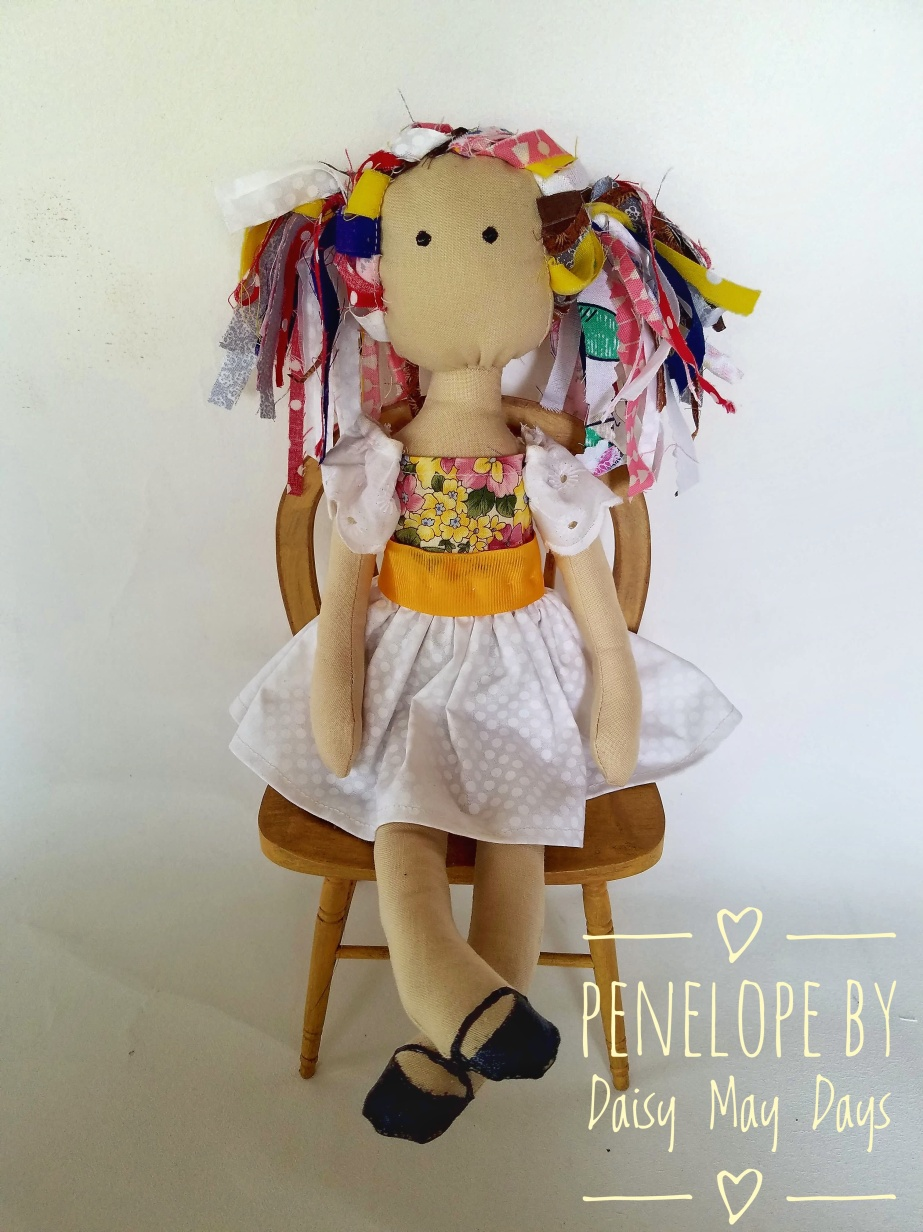 Making a doll. Meet Penelope!