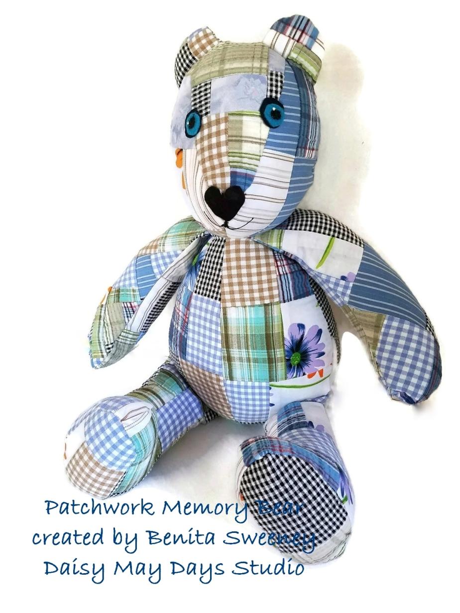 Memory Bear_Patchwork_1